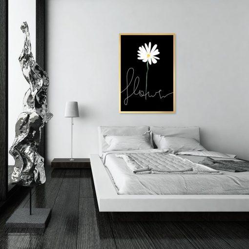 dekoracja z kwiatkiem