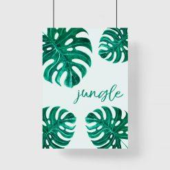 plakat o dżungli