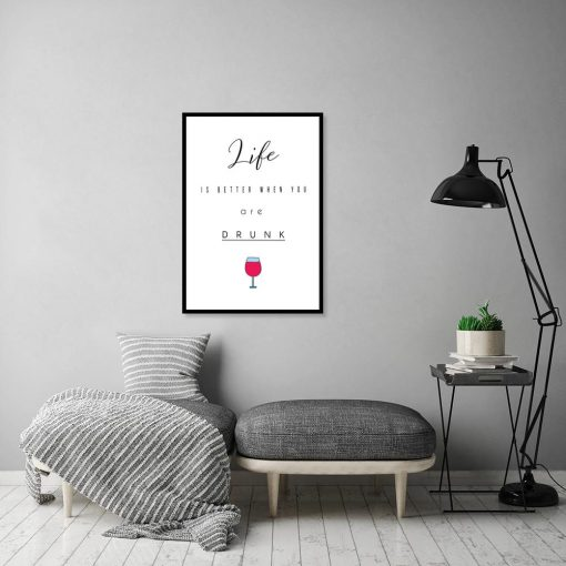 Plakat na ścianę do salonu