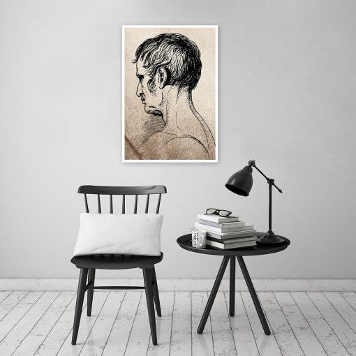 Plakat vintage do salonu