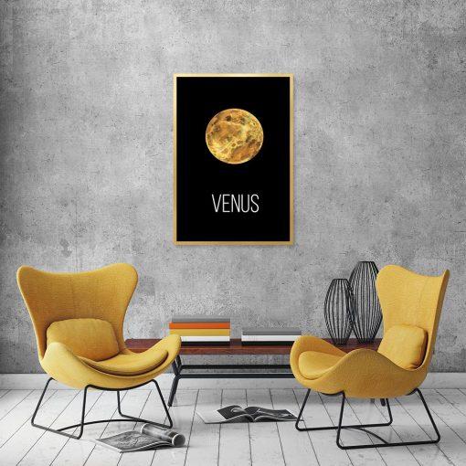 Plakat z motywem Wenus do salonu