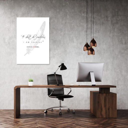 Plakat do biura