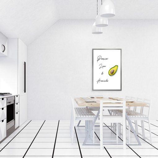 Plakat do upiększenia kuchni