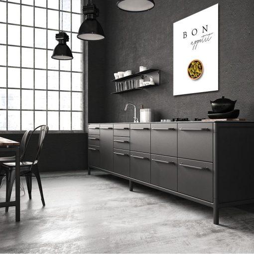 Plakat z motywem oliwek do kuchni