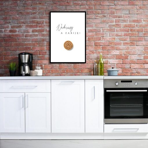 Plakat na ścianę do kuchni