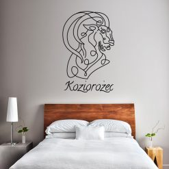 Naklejka na ścianę ze znakiem zodiaku