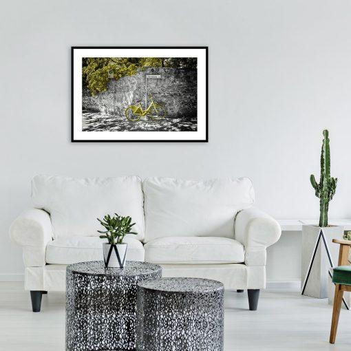 plakat włochy nad kanapę