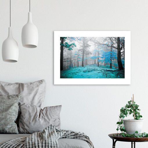 plakat leśny klimat