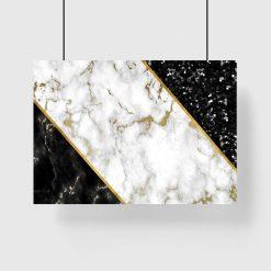 plakat abstrakcja na ścianę