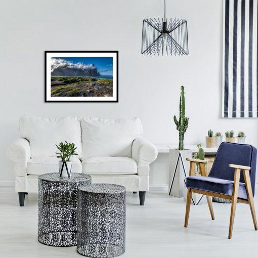 plakat stokksnes w Islandii na ścianę