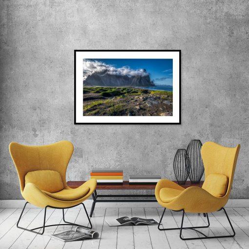 plakat piękny krajobraz na ścianie