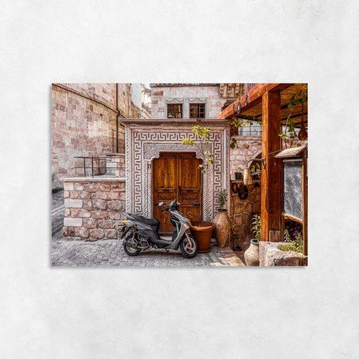 Plakat w kolorze sepii