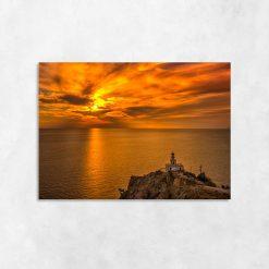 Obraz latarnia morska na skale