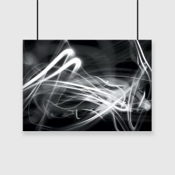 plakat z motywem abstrakcyjnym na ścianę