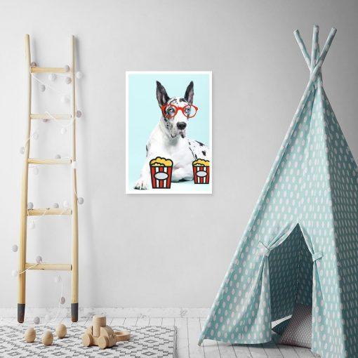 plakaty dla dzieci z psami