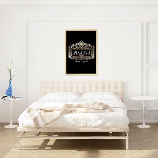 plakat art deco do sypialni