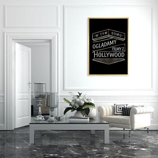 plakat art deco do salonu