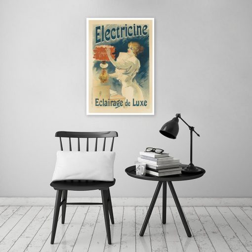 plakat w stylu vintage