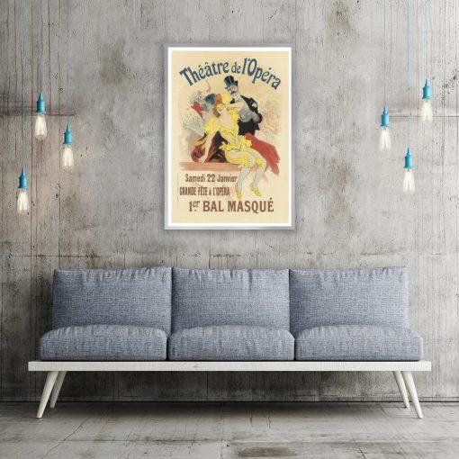 plakat vintage teatr