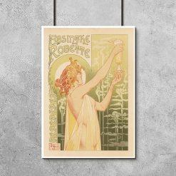 plakat retro Absinthe Robette