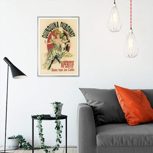 plakat vintage Aperitif