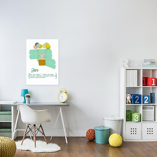 plakat do pokoju dziecinnego