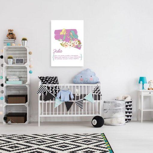 plakat Julia dla dziecka