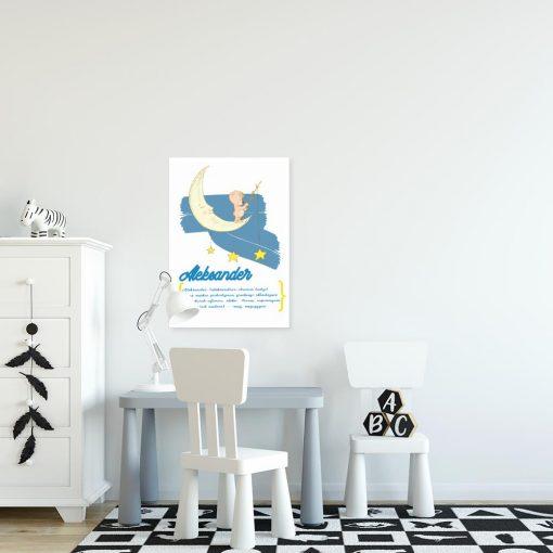 plakat Aleksander do pokoju dziecięcego