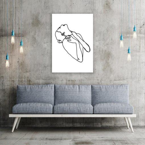 minimalistyczny plakat
