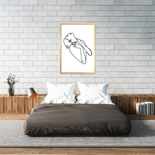 minimalizm na plakacie