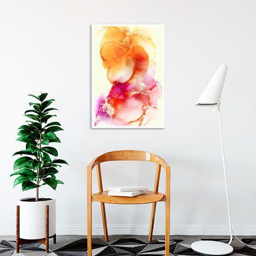 kolorowy abstrakcyjny plakat