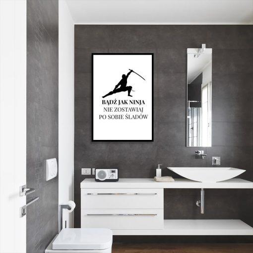 plakat do łazienki