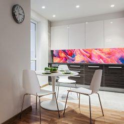 kuchenna fototapeta kolorowa abstrakcja