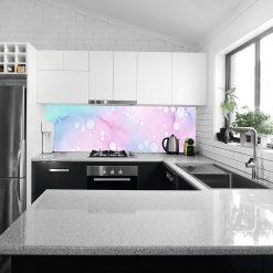 fototapeta kuchenna pastelowe wzory