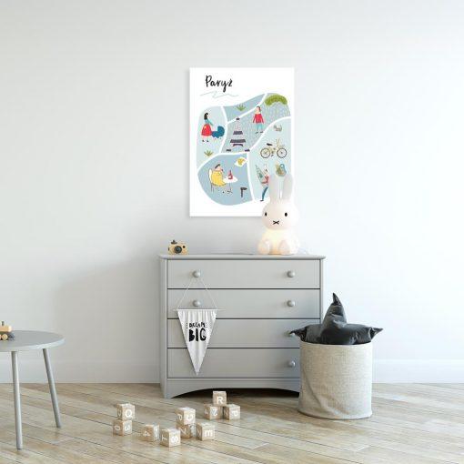 plakat edukacyjny do pokoju dziecka