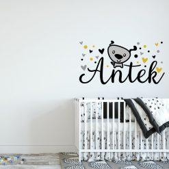 naklejka imienna do pokoju dziecka