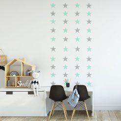 naklejka z gwiazdkami do pokoju dziecka