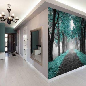 Fototapety na korytarz