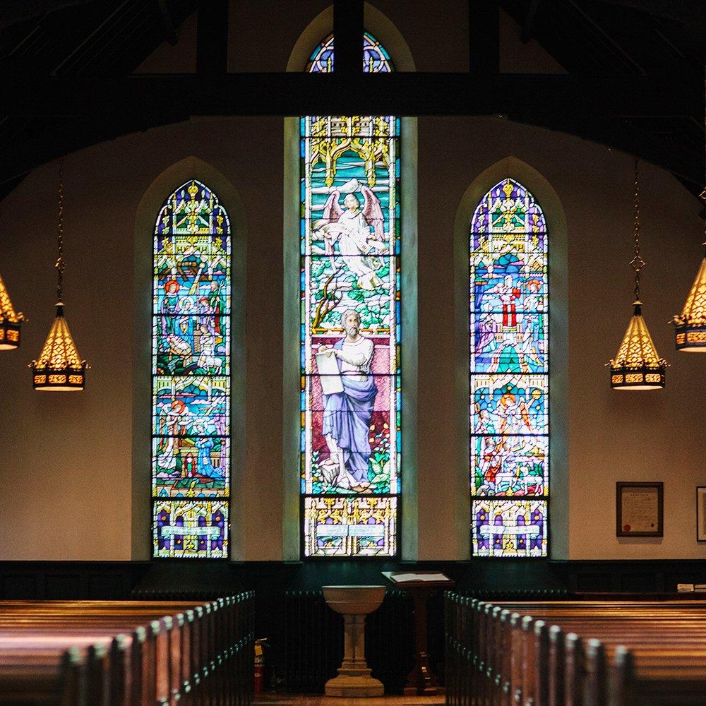 Witraże samoprzylepne religijne