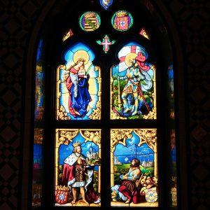 witraże naklejki sakralne