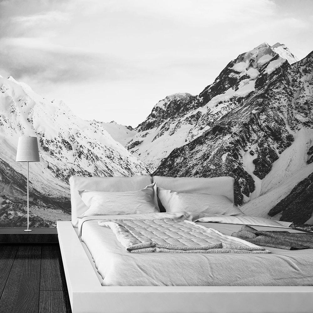 fototapeta do sypialni z górami