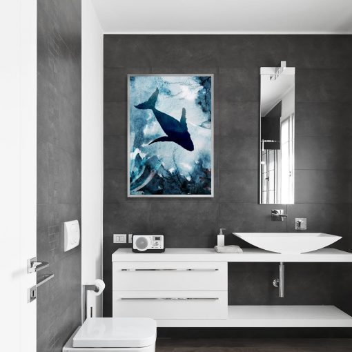plakat podwodny świat