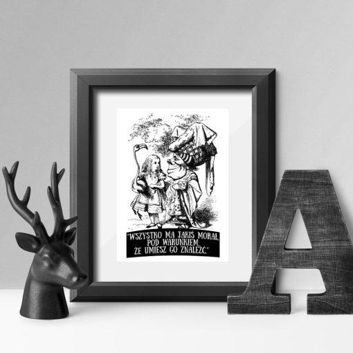 plakat Alicja w krainie czarów