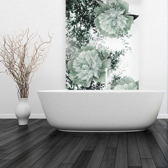 wodoodporna fototapeta do łazienki