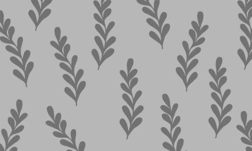 firanka samoprzylepna z liściastym motywem