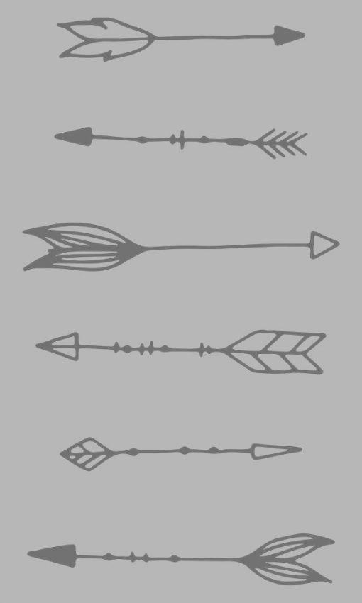 okleina na szybę ze strzałami