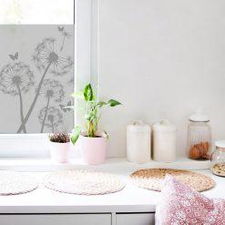 okleina okienna do kuchni z dmuchawcami