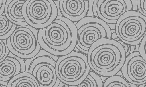 naklejka na szybę z wzorzystymi kołami