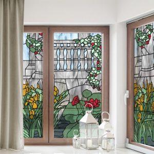 Witraże samoprzylepne na okna