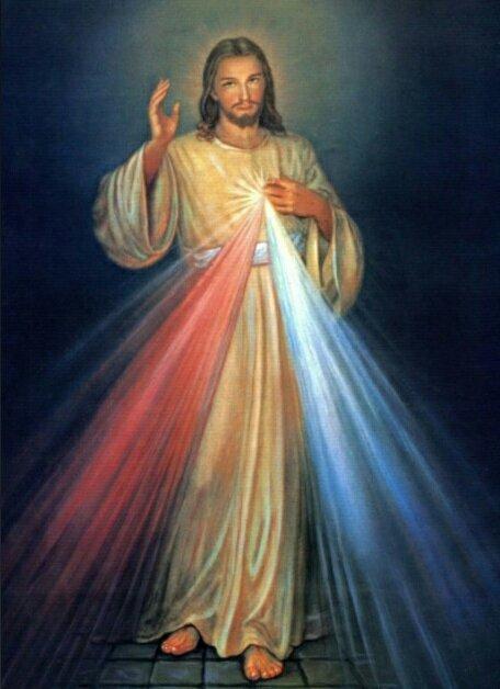 drukowane obrazy religijne